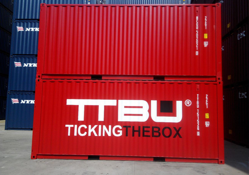 opslag container tickingthebox